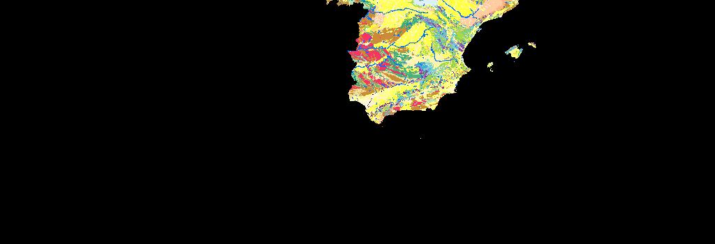 Geological Map Of Spain.Geological Map Of Spain 1 1 000 000 One Geology Europe Arcgis Hub